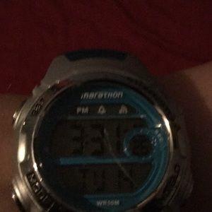 Other - Blue digital watch